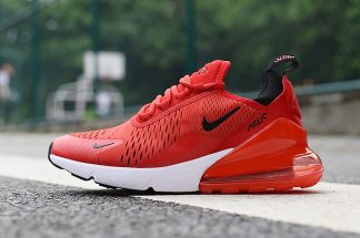 Nike Air Max 270 Red Black White Trainers