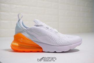 Nike Air Max 270 White Total Orange AH8050-102