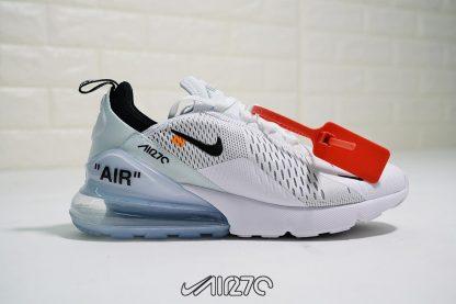 Virgil Abloh Off White x Nike Air Max 270 In White