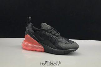 Kids Nike Air Max 270 Black Hot Punch