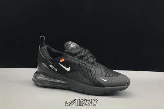 Kids Nike Air Max 270 Triple Black and White