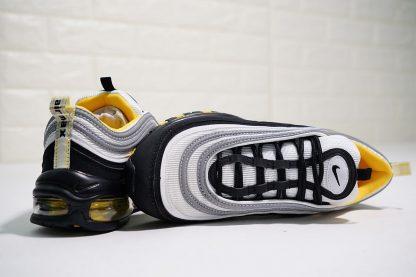 Nike Air Max 97 Black White-Amarillo tongue look