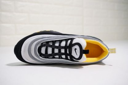 Nike Air Max 97 Black White-Amarillo upper look