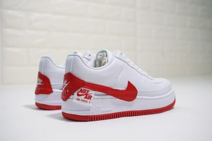 Nike Air Force 1 Low Jester White University Red shoes