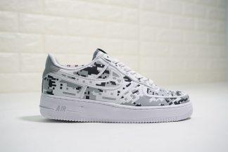 3M Nike Air Force 1 Low Digi-Camo White