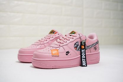 AF1 Air Force 1 Low Just Do it JDI Pink shoes