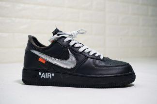 Air Force 1 07 Virgil x MoMA Black