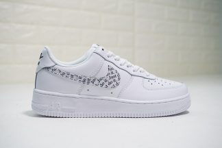 Clear White Nike Air Force 1 Just Do It