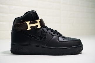 H Nike Air Force 1 High Midnight Black