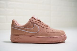 Nike Air Force 1 07 L.V.8 Suede Salmon Pink