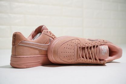 Nike Air Force 1 07 L.V.8 Suede Salmon Pink for sale