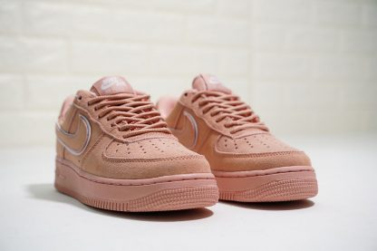 Nike Air Force 1 07 L.V.8 Suede Salmon Pink toe
