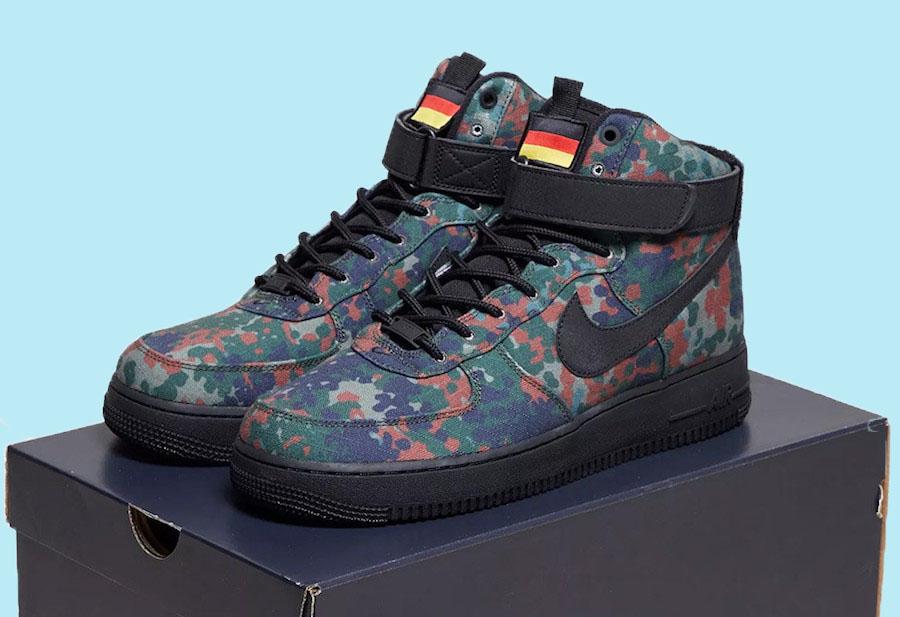 Nike Air Force 1 High German flag
