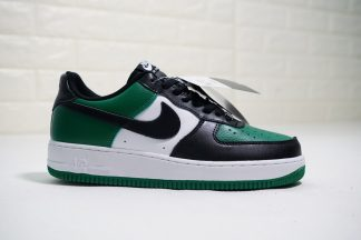 Nike Air Force 1 Low Leather Black Green