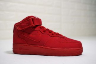 Nike Air Force 1 Mid 07 Suede Gym Red
