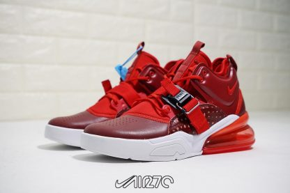 Nike Air Force 270 Red Croc Team Red