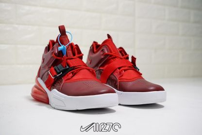 shop Nike Air Force 270 Red Croc Team Red