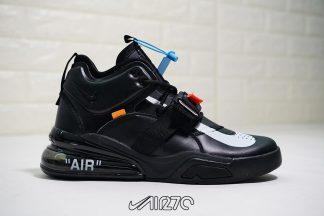 Nike Air Force 270 X Off White Triple Black