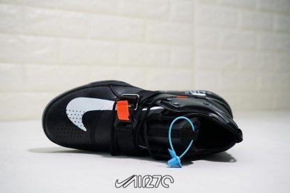 Nike Air Force 270 X Off White Triple Black look
