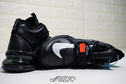 Nike Air Force 270 X Off White Triple Black shoes