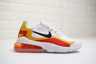 Nike Air Max 270 X React Element 87 White Total Crimson
