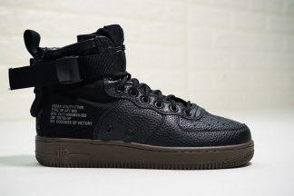 Nike SF-AF1 Mid Black Cargo Khaki