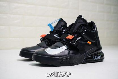 Off White Nike Air Force 270 Triple Black