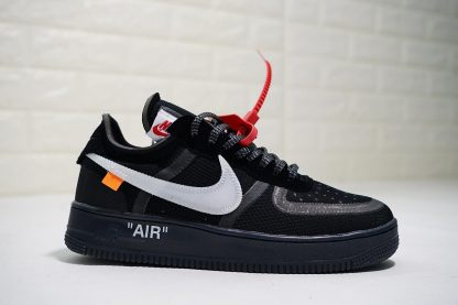 Off-White x Nike Air Force 1 Low Black White