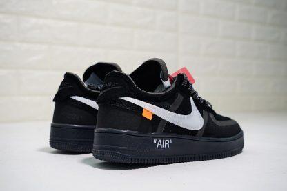 Off-White x Nike Air Force 1 Low Black White orange
