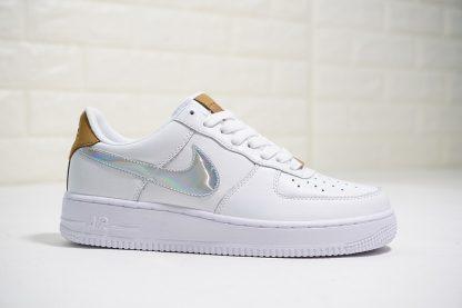 White Nike Air Force 1 AF1 low Nai Ke THE BUND