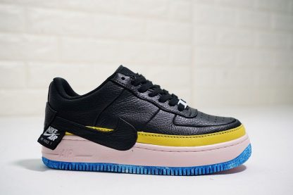 Women Nike AF1 Jester Black Sonic Yellow