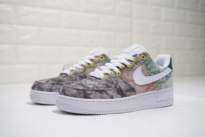 AF 1 One Low LXX Summit White Oil Grey Shoes