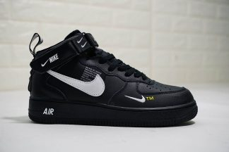 Black Nike Air Force 1 Mid 07 L.V.8 Utility Pack