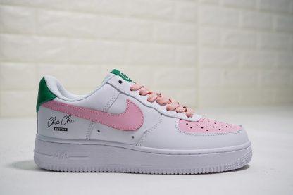 Cha Cha Matcha Green Tea Nike Air Force 1 Low Pink