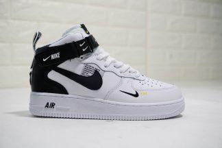 Nike Air Force 1 07 Mid Utility Pack White Black