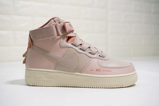Nike Air Force 1 High Utility Soft pink Rose gold