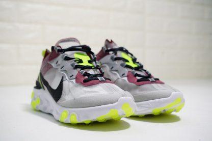 Nike React Element 87 Desert Sand Cool Grey toe