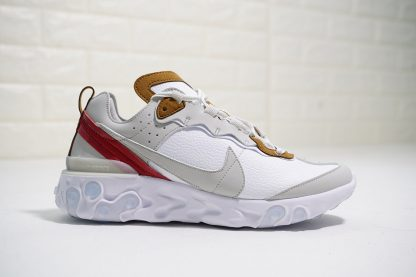 React Element 87 Leather White Wolf Grey