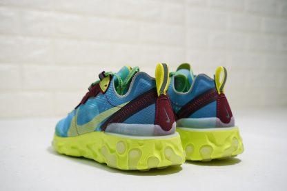 Undercover x Nike React Element 87 Lakeside heel
