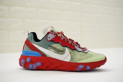 Undercover x Nike React Element 87 Red Green Blue