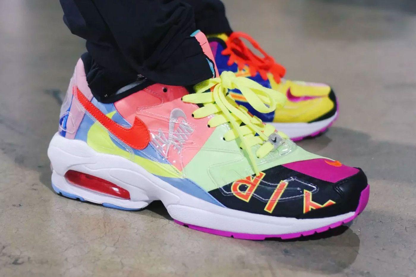 atmos x Nike Air Max2 Light Release on feet