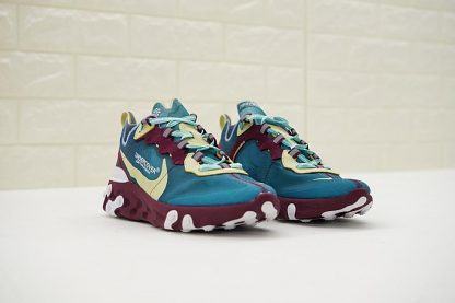 buy Undercover x Nike React Element 87 Blue Gold