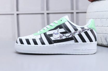 Off-White x Nike Air Force 1 Low Zebra