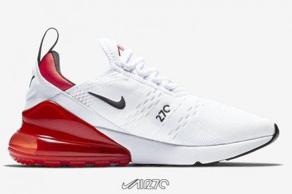 Women Nike Air Max 270 White University Red 270