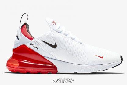 Women Nike Air Max 270 White University Red