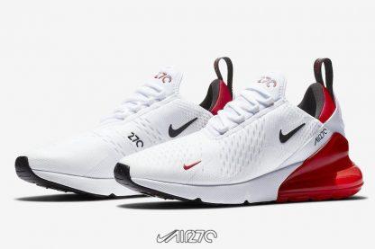 shop Women Nike Air Max 270 White University Red