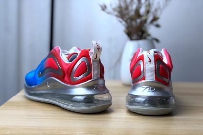 GS Nike Air Max 720 Royal Blue University Red heel