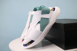 Adidas Y-3 Qasa Sandal White Green