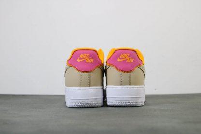 Nike Air Force 1 07 SE Womens Shoe Desert Ore heel