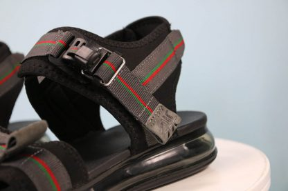 Nike Air Max 720 Sandal Black Grey